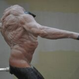 Hunchback Sculpture In Progress