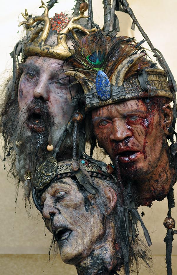 Heads of Kings