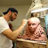 Fish Princess Sculpture In Progress
