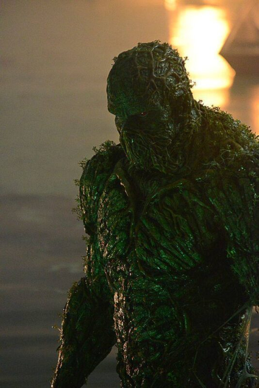 Swamp Thing Prosthetic Suit