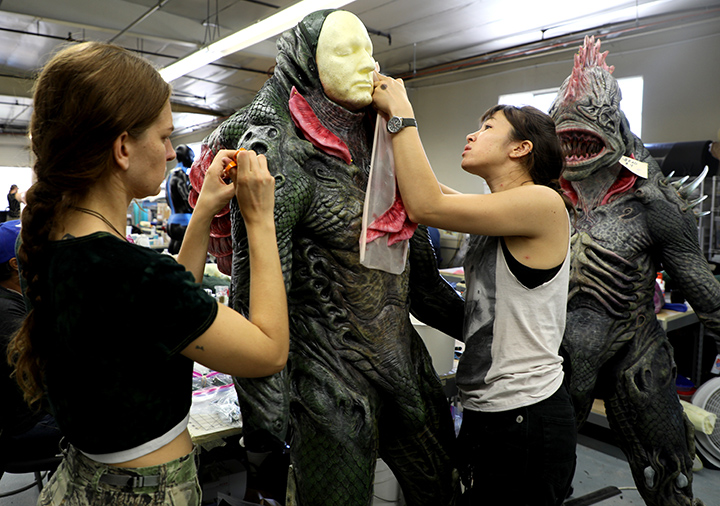 Trench Creature Suits In Progress