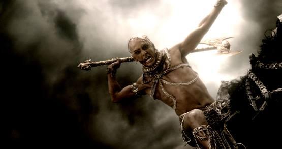 Xerxes With Axe