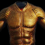 Aquaman Gold Prosthetic Top