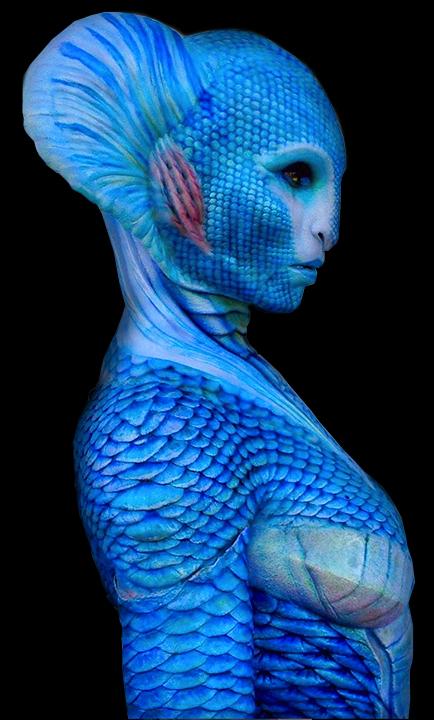 Aquaman Fish Queen